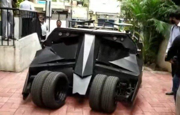 Batmobile black front