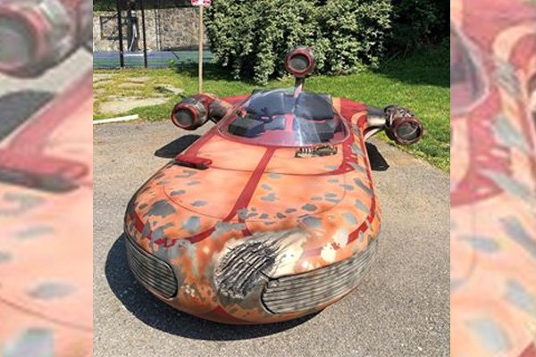 real-life version of Star wars' X-34 Landspeeder