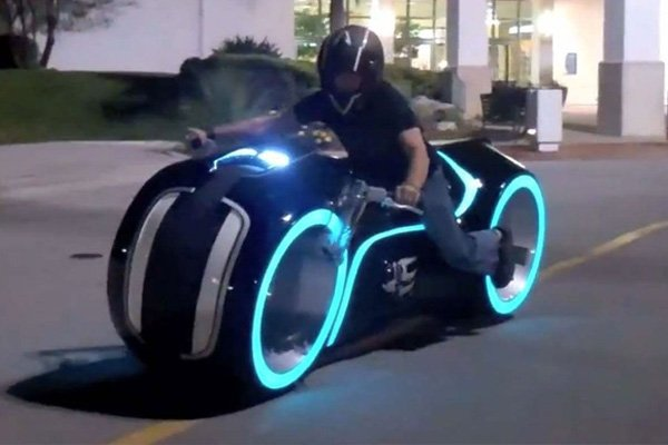 Parker Brothers Choppers' Light Cycle