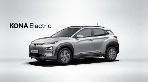 hyundai kona 2019 silver side profile