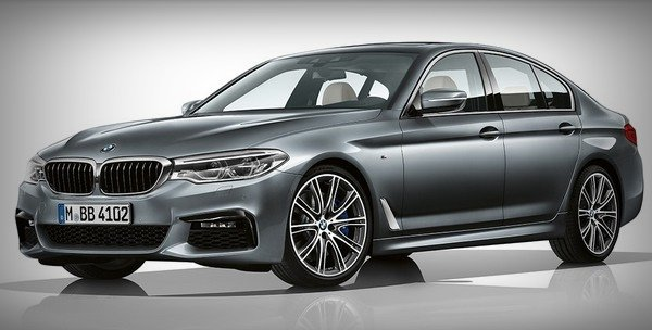 bmw 5-series front angle