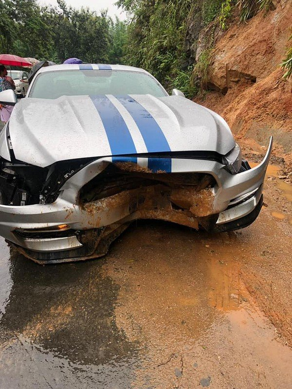 Ford Mustang Crashed Just Few Days After Purchase In Assam