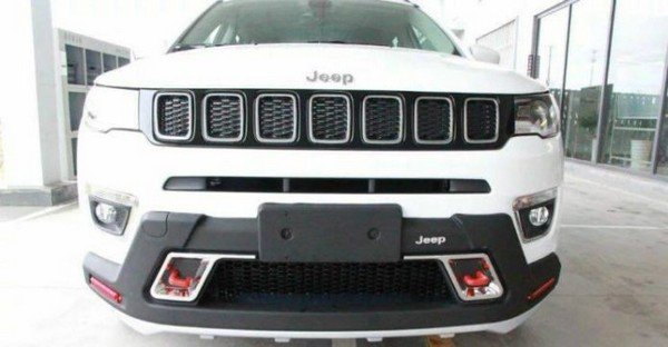jeep compass modified body kit