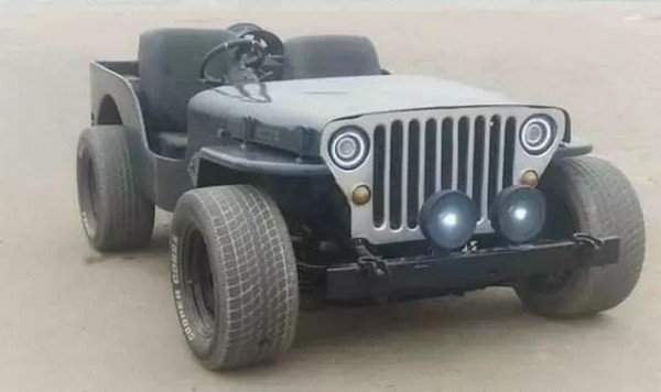 jeep lowrider front angle