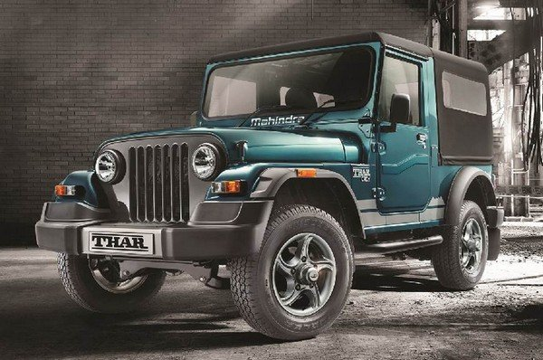 mahindra thar 700 special edition front exterior