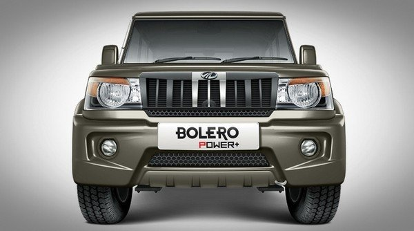 mahindra bolero power front