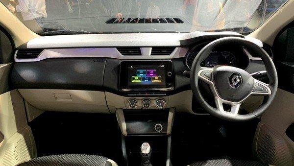 2019 renault triber interior dashboard
