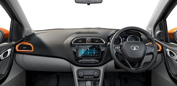 tata tiago interior look