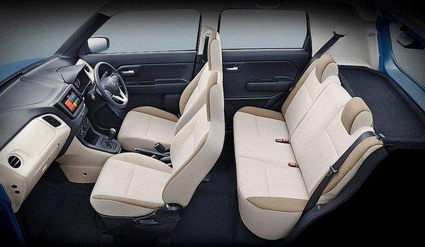 2019 maruti wagon r interior seating layout