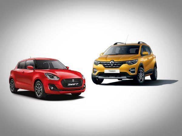 renault triber vs maruti swift