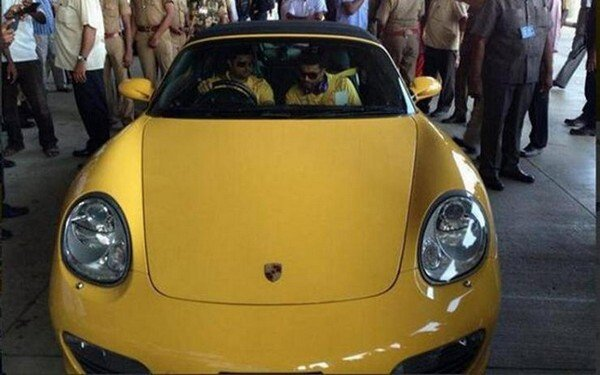porsche boxster yellow limited edition