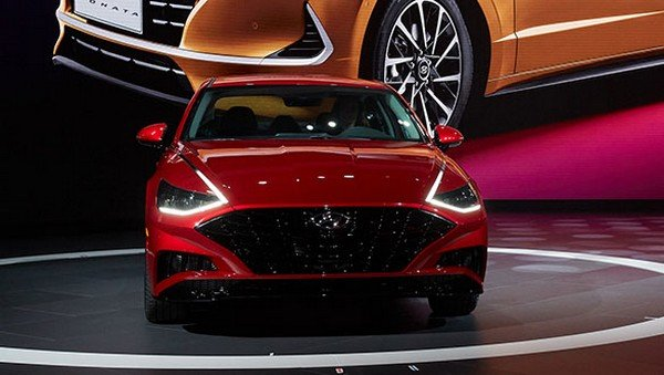 Cars atAuto Expo 2020 - Hyundai Ssonata