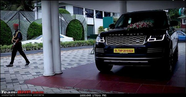 range rover blue front angle