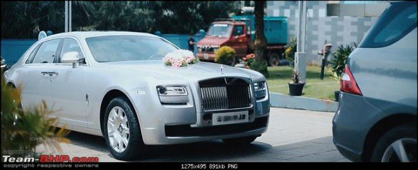 rolls royce ghost ewb front angle