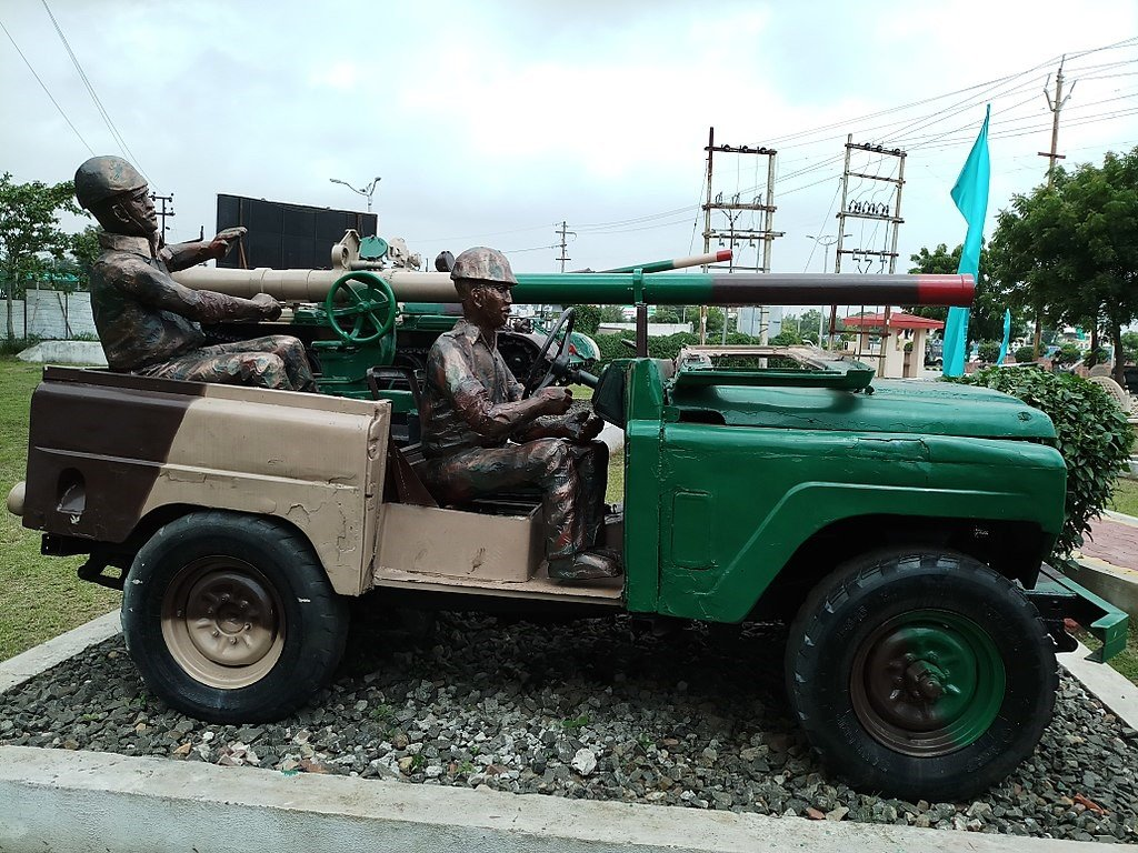 This Modified Army Jonga Looks Magnificent And Its For Sale