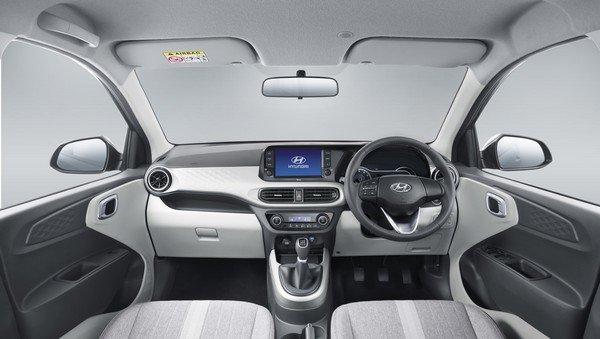 2019 hyundai grand i10 nios interior dashboard