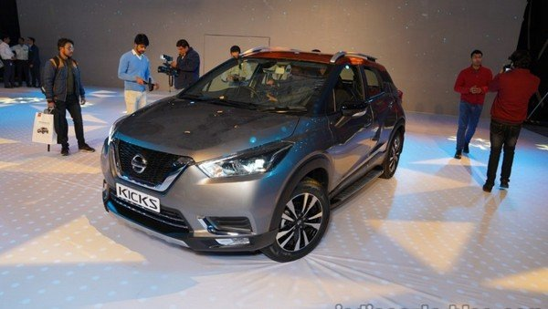 nissan kicks launch event front three quarters