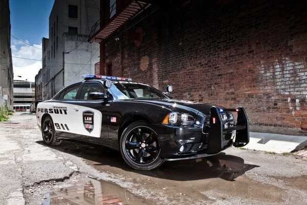 us Dodge Charger Pursuit Special police car