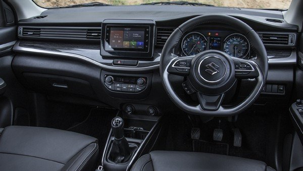 2019 maruti xl6 interior dashboard