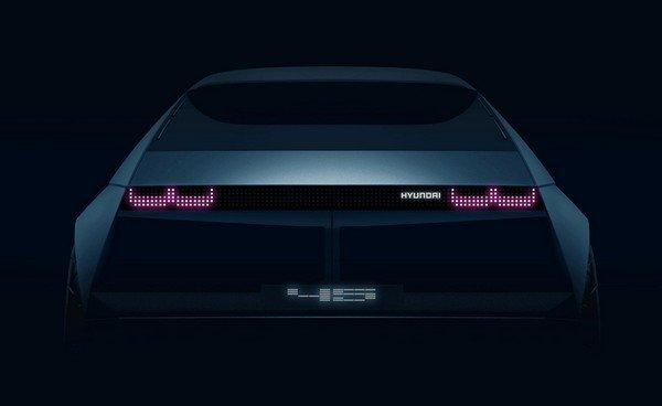 hyundai 45 electric vehicle rear design