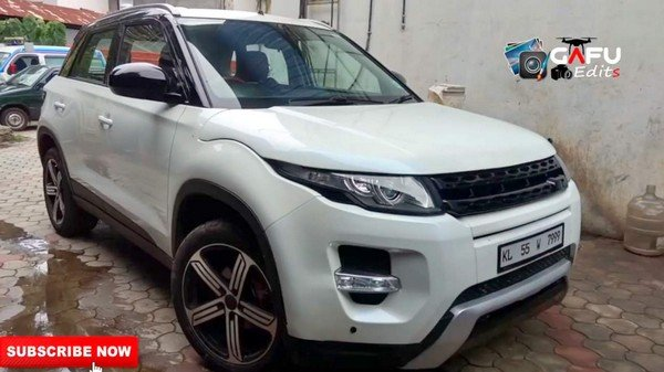 maruti vitara brezza modified range rover evoque
