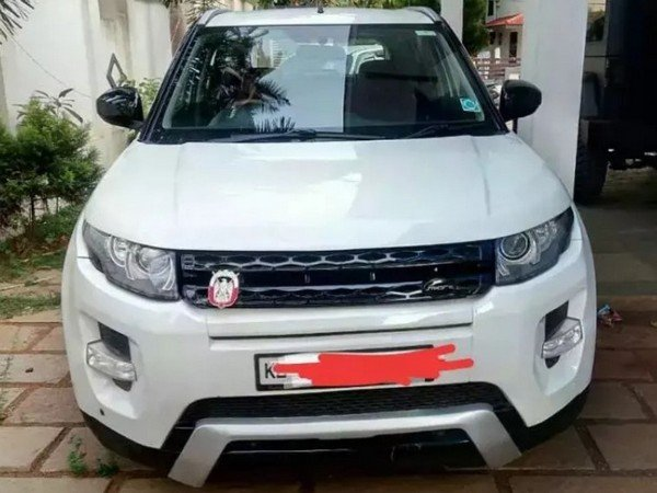 modified maruti vitara brezza white front angle
