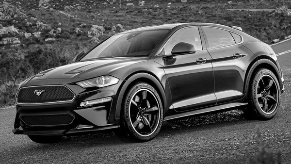 ford mustang inspired suv front angle