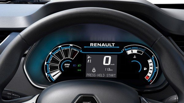2019 renault triber interior instrument panel