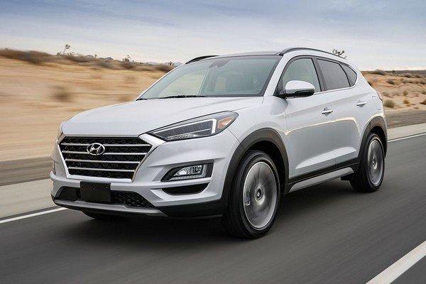 hyundai tucson facelift 2019 exterior front