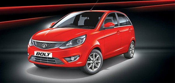tata bolt red front