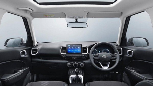 2019 hyundai venue interior dashboard
