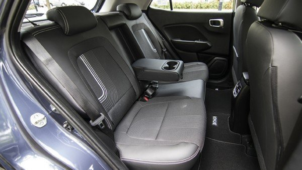 2019 hyundai venue interior rear seat