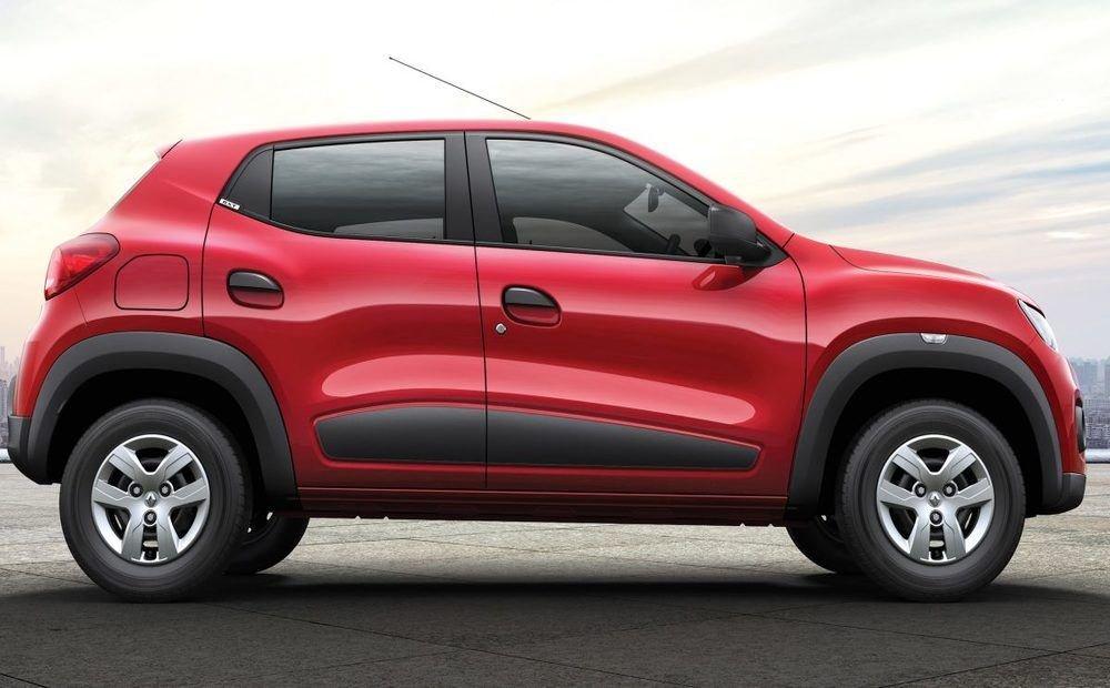 Renault Kwid exterior side