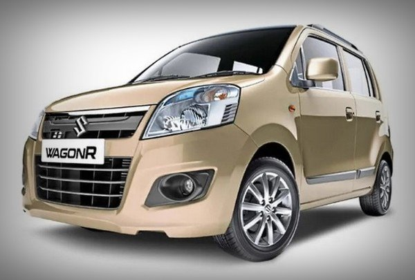 old-gen maruti wagonr golden front angle