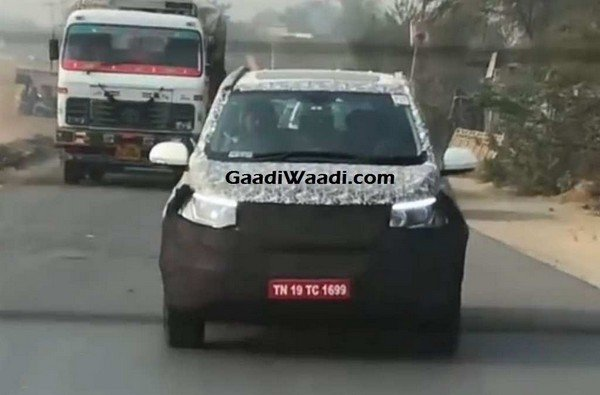2018 mahindra xuv500 facelift india