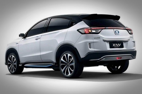 honda x-nv concept rear