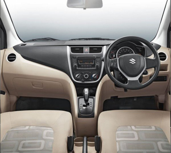 maruti celerio dashboard layout