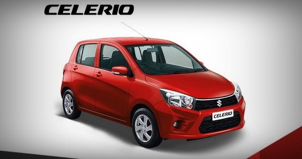 maruti celerio red front view