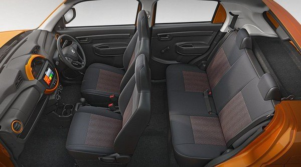 maruti s-presso entry-level hatch cabin