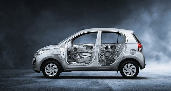 hyundai santro strong body structure