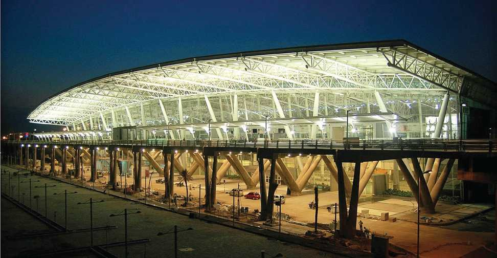 parking places in Chennai airport