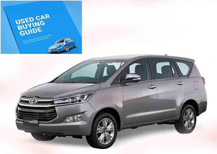 Used Car Buying Tips Toyota Innova Crysta