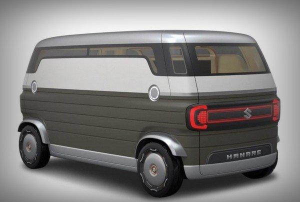 suzuki hanare concept rear angle
