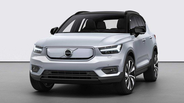2020 volvo xc40 recharge front angle