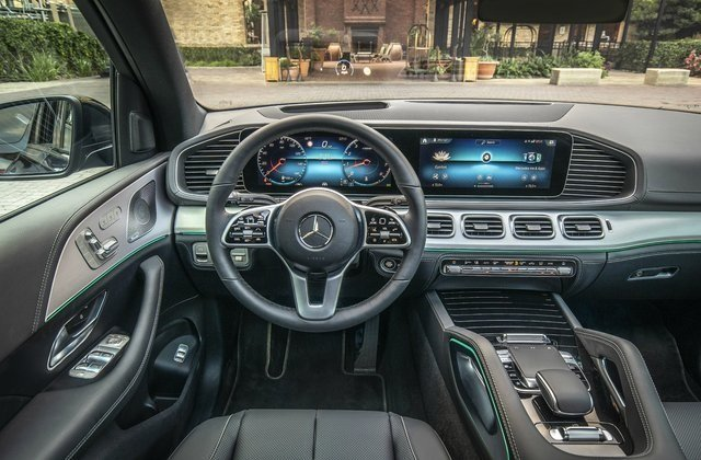 2020 Mercedes Benz GLE interior