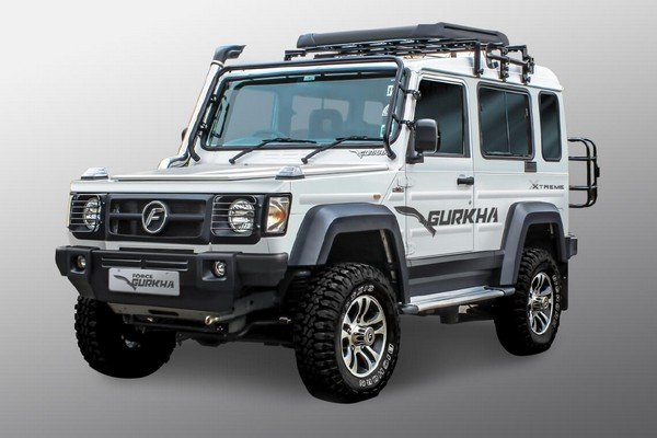 Best Off-Road Cars in India Force Gurkha