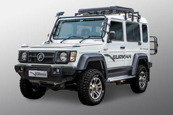 Best Off-Road Cars in India Force Gurkha