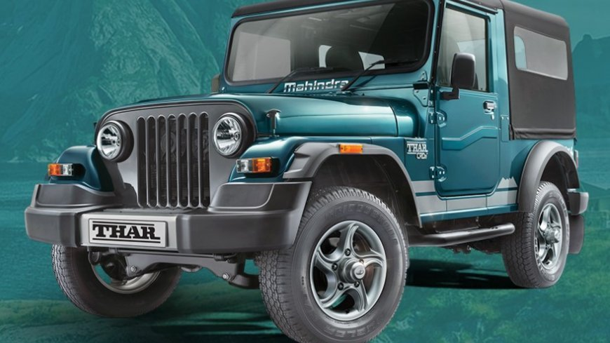 Best Off-Road Cars in India Mahindra Thar