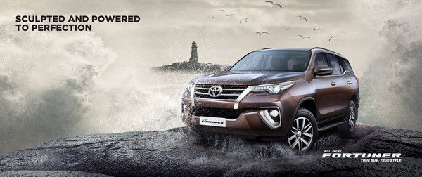 Best Off-Road Cars in India Toyota Fortuner