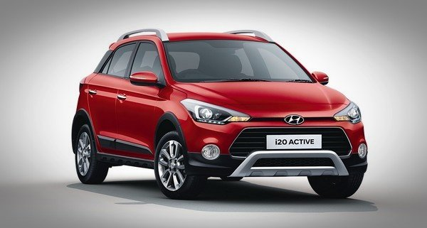 2019 hyundai i20 active red front end